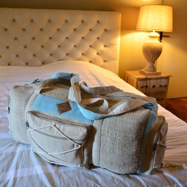 sac de voyage en chanvre